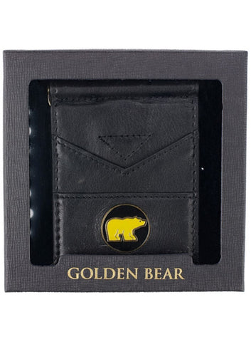 Nicklaus Golden Bear Leather Wallet
