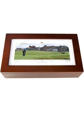 Jack Nicklaus Desk Caddie by Stonehouse - St Andrews No. 1