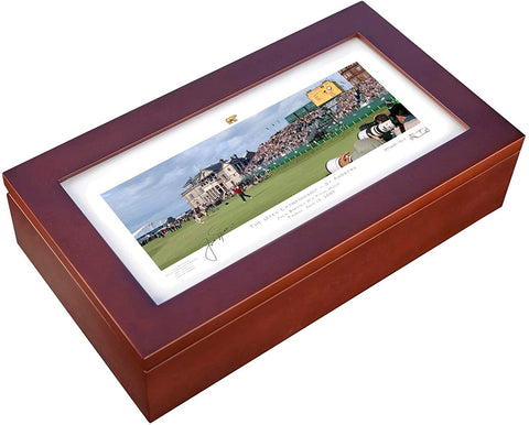 Jack Nicklaus Desk Caddie by Stonehouse - St Andrews No. 18