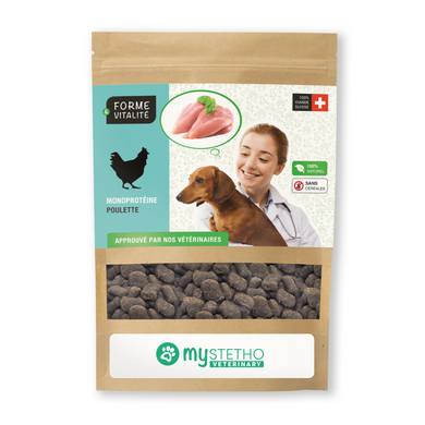 Chicken 72% - treats for dogs (large 100gr)
