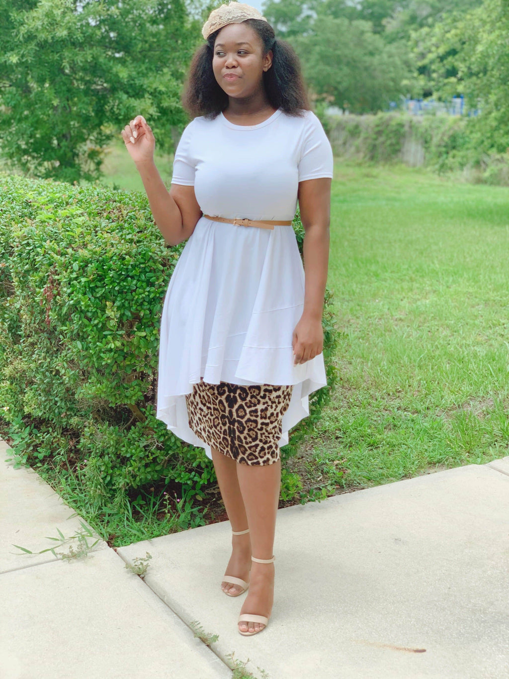 The Diana hi-lo Peplum (3 colors) - Her Worth Boutique