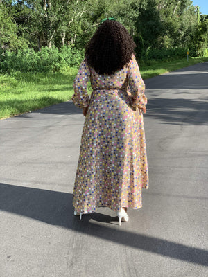 Dotted Dream Maxi - Her Worth Boutique