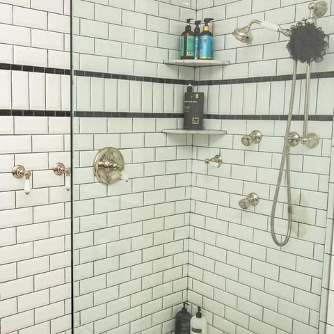 Bevelled Subway Tiles Patterns