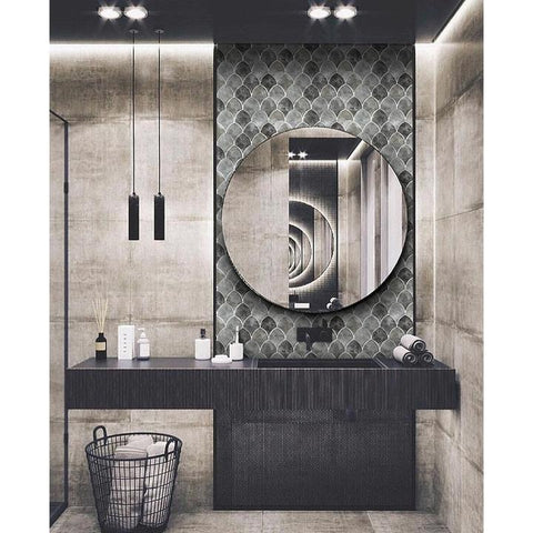 Fish Scale Tiles for Bathroom