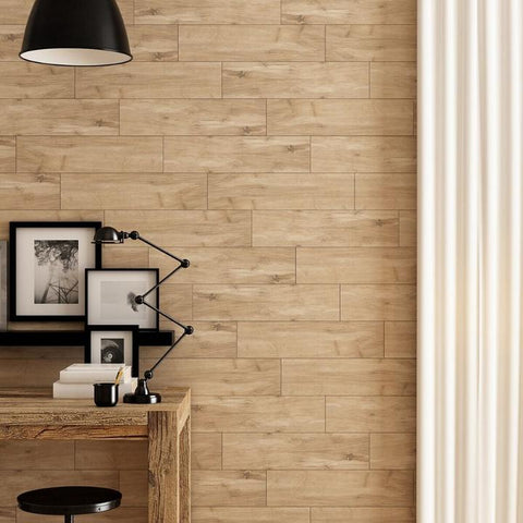 wood look the woodlands wall tile