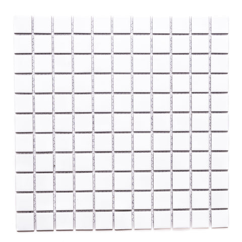 "Cube 1"" x 1"" Glass Grid Mosaic Tile - The Tile Life"