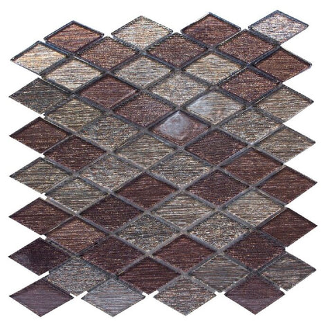 "Cosmos 1"" x 1"" Glass Mosaic Tile - The Tile Life"