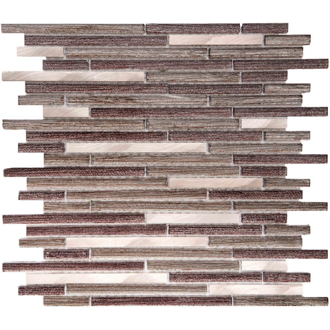 "Cosmos 1"" x 3"" Glass Mosaic Tile - The Tile Life"