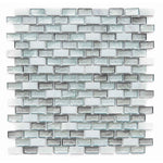 "Victory Brick 0.75"" x 1.13"" Glass Mosaic Tile - The Tile Life"
