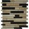 "1"" x 3"" Natural Stone Mosaic Tile - The Tile Life"