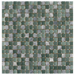 Victory Glass Grid Mosaic Tile - The Tile Life