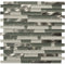 "Victory Brick 1"" x 2"" Metal and Glass Mosaic Tile - The Tile Life"