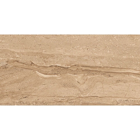 "Rocky 12"" x 24"" Porcelain Marble Look Wall & Floor Tile - The Tile Life"