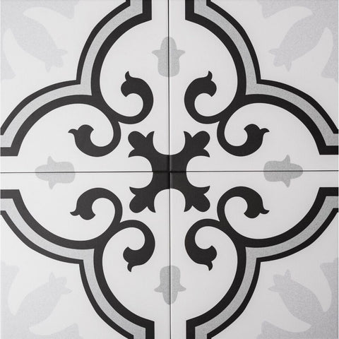 "Venice 10"" x 10"" Porcelain Spanish / Moroccan Wall & Floor Tile - The Tile Life"