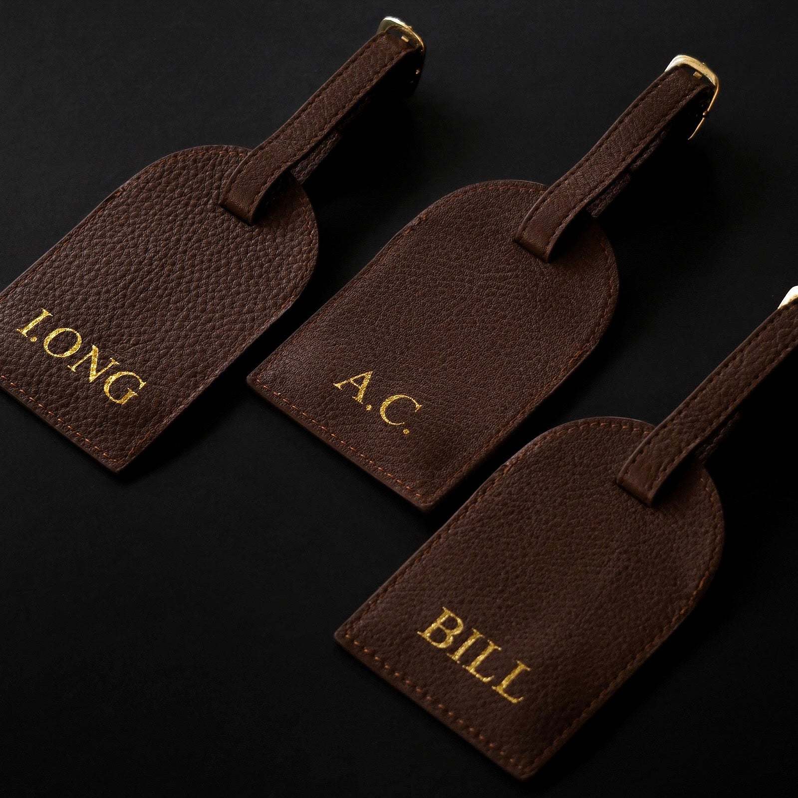 Luggage Tag (Brown)