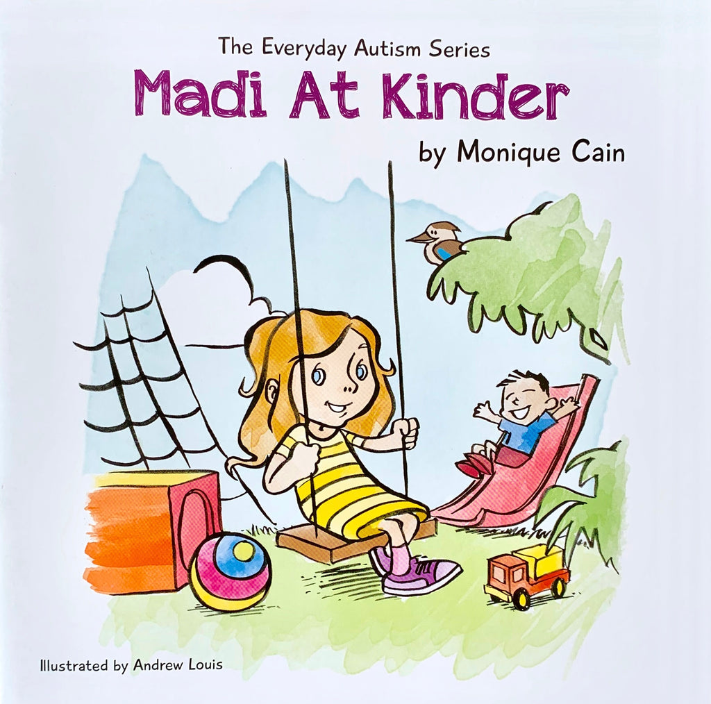 Madi At Kinder by Monique Cain