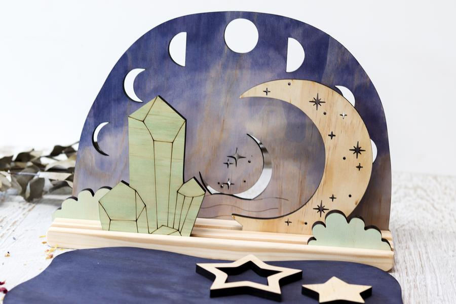 StoryScene- Moon Phases Background
