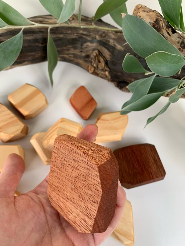 Wooden Gems Set (Natural)