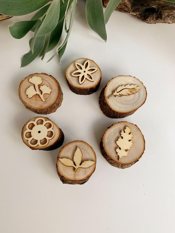 Nature Log Stamper Set