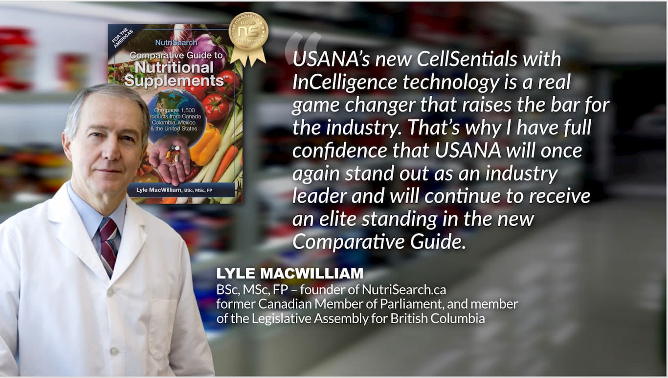 doctor explaining the benefits of cellsential from USANA