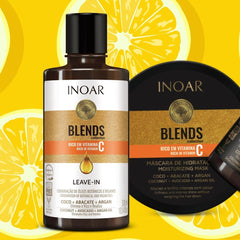 Inoar Blends Leavein and hair Mask