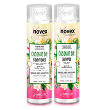 Load image into Gallery viewer, NOVEX Coconut Oil Shampoo & Conditioner Kit (10.1oz/300ml x 2)