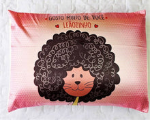 "Load image into Gallery viewer, Satin Pillowcase - ""Little lion"""