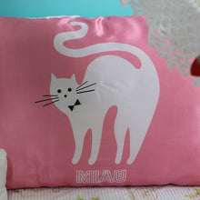 "Load image into Gallery viewer, Satin Pillowcase - ""Miau"""