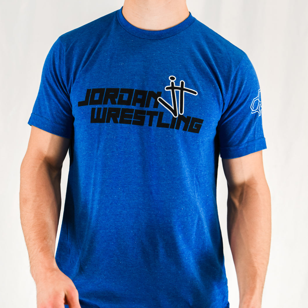 Jordan Wrestling Blue T-Shirt