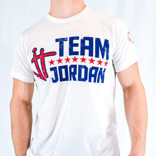 Jordan Trained Red, White, & Blue T-Shirt