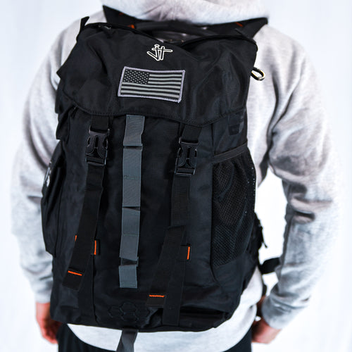 JT Hiker Bag Black