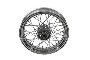"16"" Front or Rear Spoke Wheel with Chrome Hub - No School Choppers"