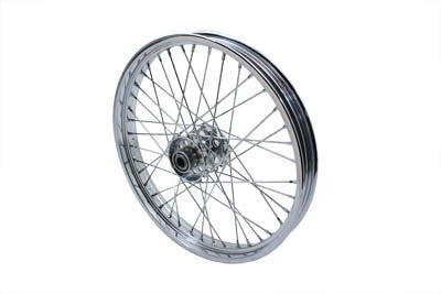 "21"" Front Spoke Wheel Chrome 2.15"" - No School Choppers"