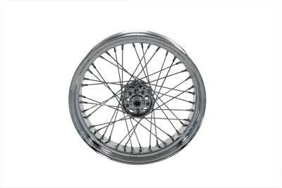"18""  Rear Spoke Wheel Chrome Rim and Hub - No School Choppers"