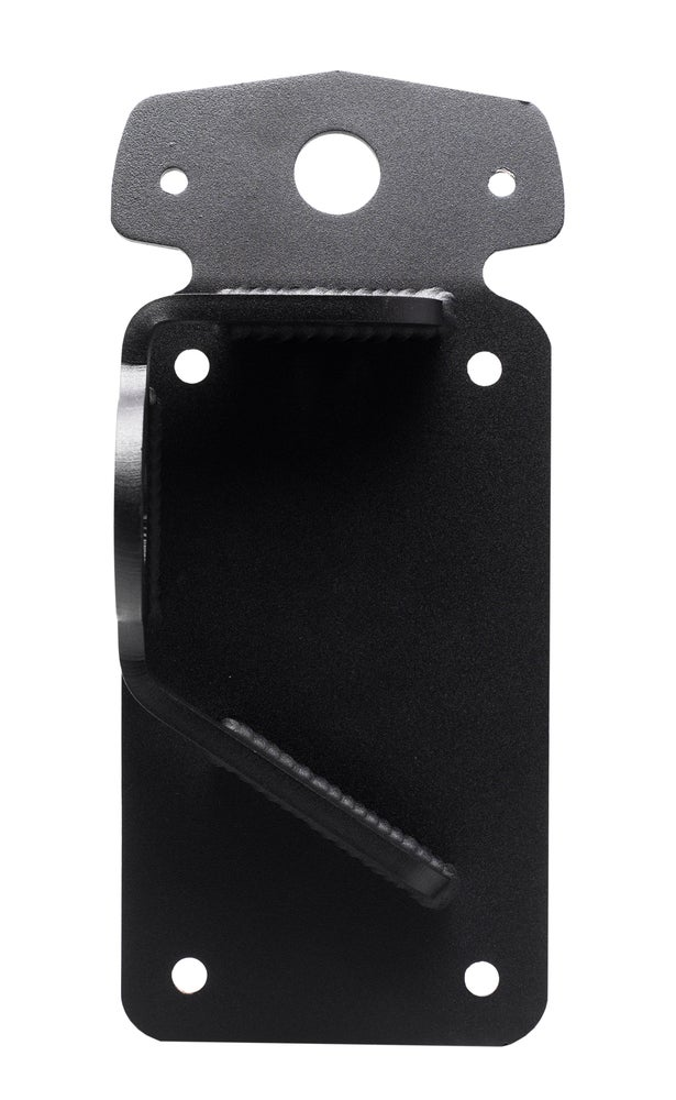 Vertical Axle Mount License Plate Bracket for Lucas Style light - No School Choppers