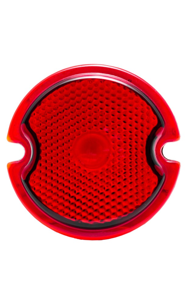 1933-1936 Duolamp Tail Light Replacement Lens - No School Choppers