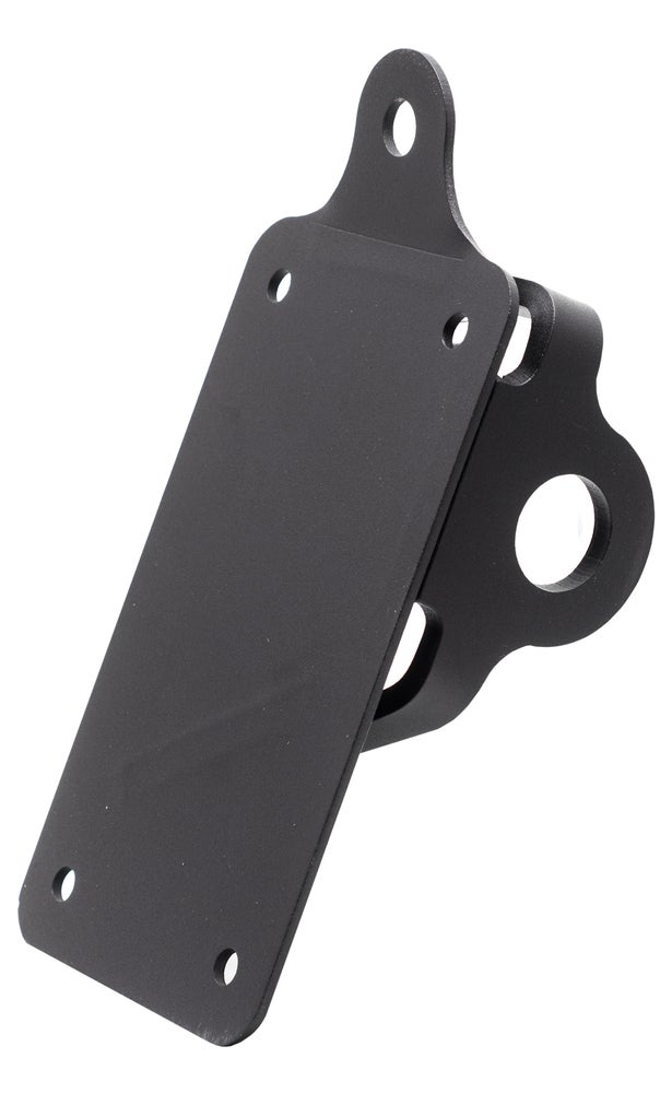 Vertical Axle Mount License Plate Bracket for LED light - No School Choppers