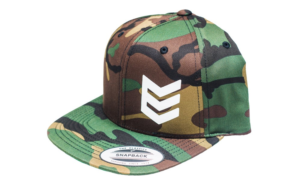 "NSC ""Stock Sucks"" Snap Back Hat - Camo - No School Choppers"