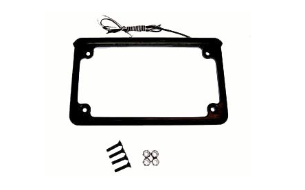 LED License Plate Frame - No School Choppers