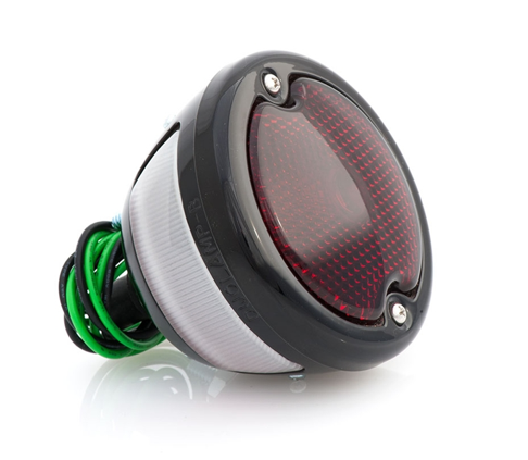 33 Duolamp Tail Light-Black - No School Choppers