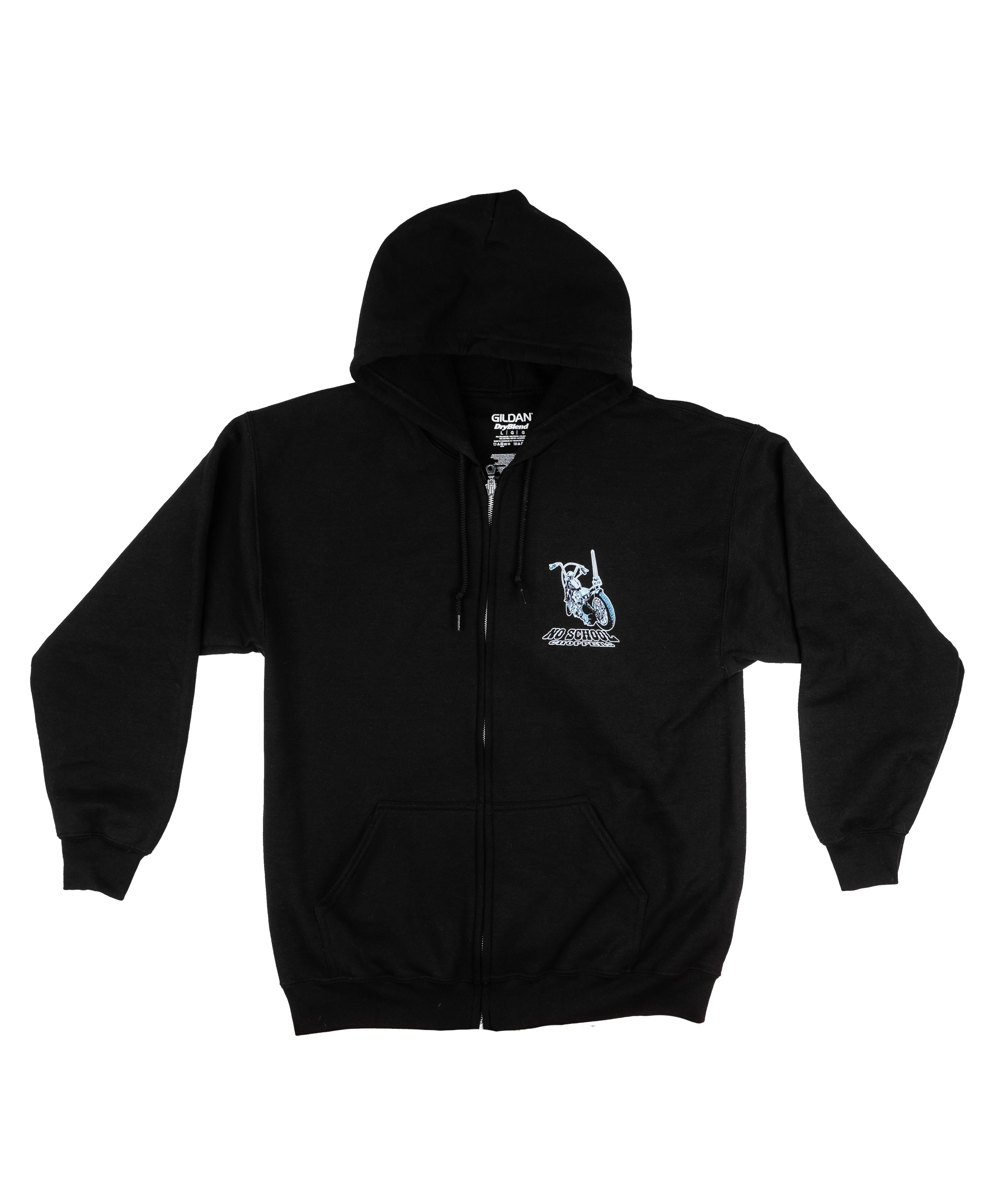 NEW! NSC Camp Out Zip Up Hooded Sweatshirt