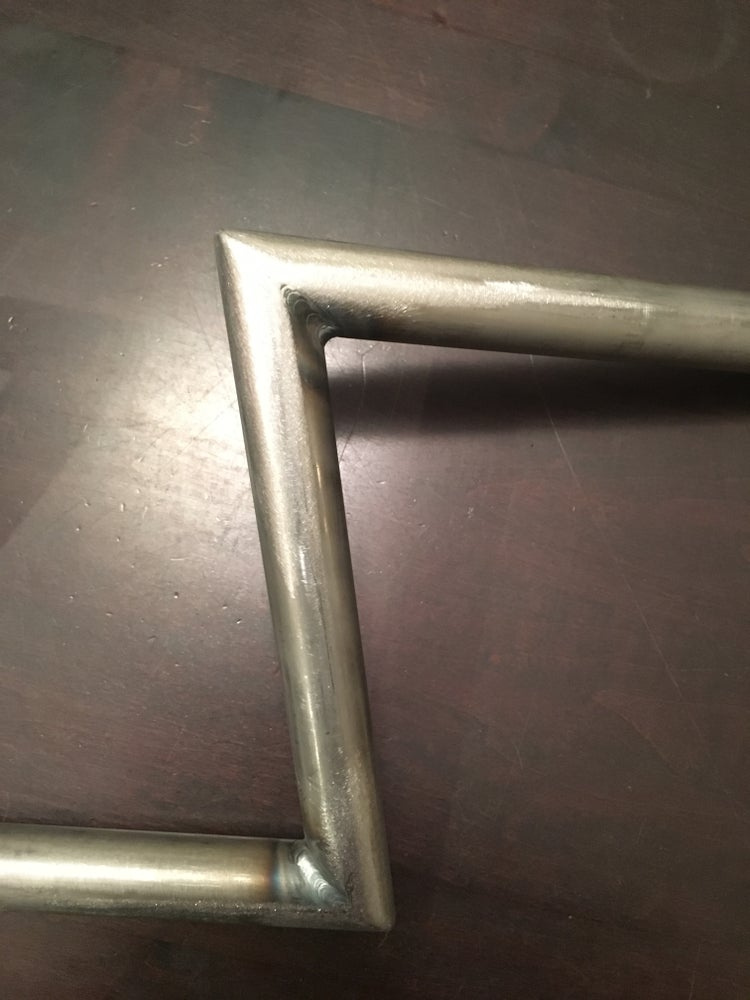 "1"" Capital Z Bar Handlebars - No School Choppers"