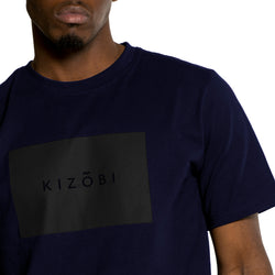 KIZOBI T-shirt navy blue