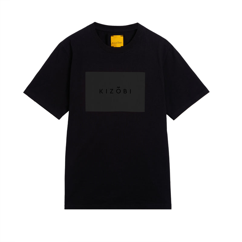 KIZOBI Box T-shirt Black