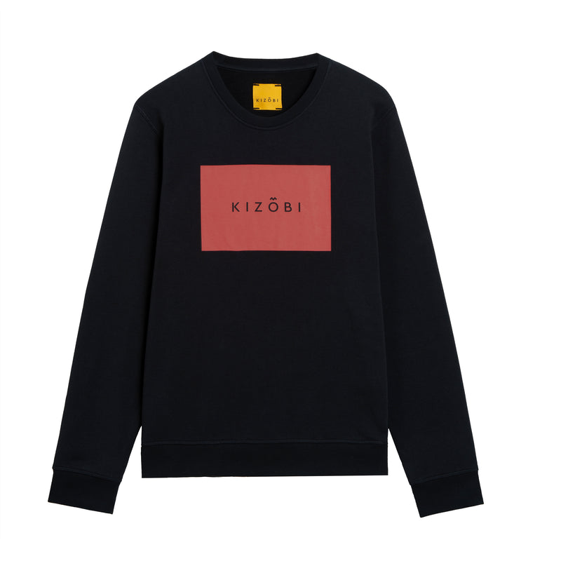KIZOBI Box Sweatshirt Red