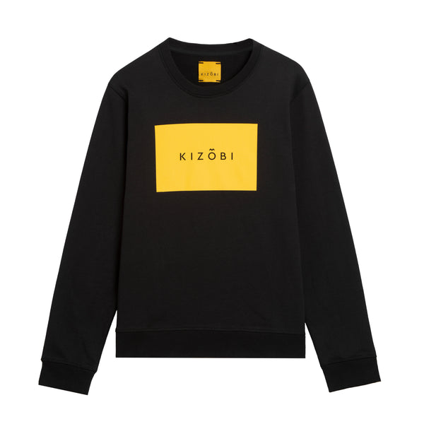 KIZOBI Box Sweatshirt Yellow