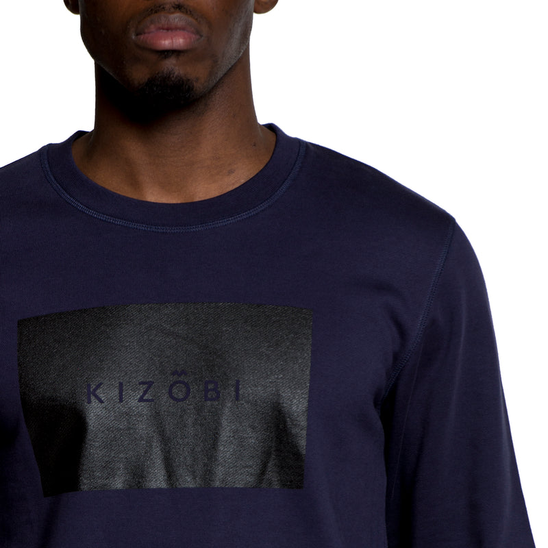 KIZOBI Box Sweatshirt Navy