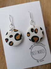 Load image into Gallery viewer, Cute leopard print dangles
