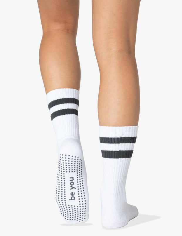 Be You Crew Grip Socks