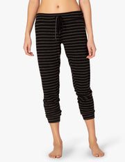 Striped Lounge Around Hacci Jogger